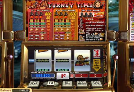 Play slots at Red Stag: Red Stag featuring the Video Slots Turkey Time with a maximum payout of $24,000