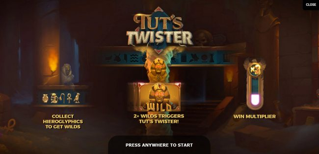 Play slots at Golden Riviera: Golden Riviera featuring the Video Slots Tut's Twister with a maximum payout of $125,000