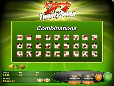 Wicked Jackpots featuring the Video Slots TwentySeven with a maximum payout of $25,000