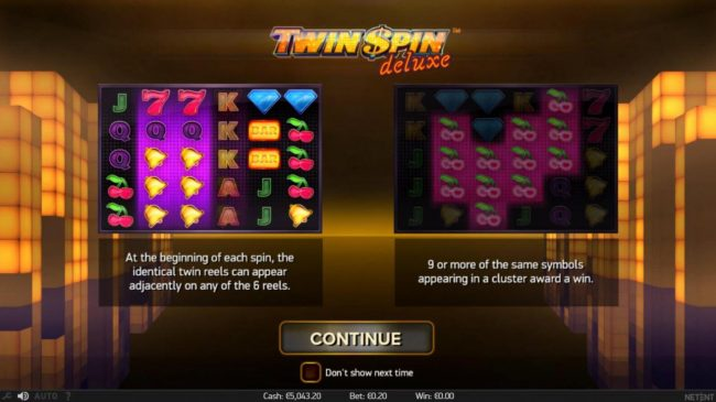 Play slots at Roy Richie: Roy Richie featuring the Video Slots Twin Spin Deluxe with a maximum payout of $100,000