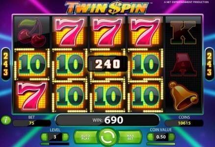 Twin Spin :: anither example of a big win