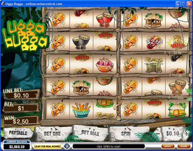 Titanbet.it featuring the Video Slots Ugga Bugga with a maximum payout of $25,000