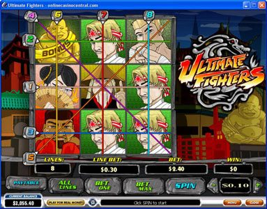 Play slots at Casino 765: Casino 765 featuring the video-Slots Ultimate Fighters with a maximum payout of $75,000
