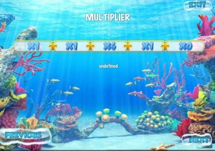 Solara featuring the Video Slots Underwater World with a maximum payout of $500