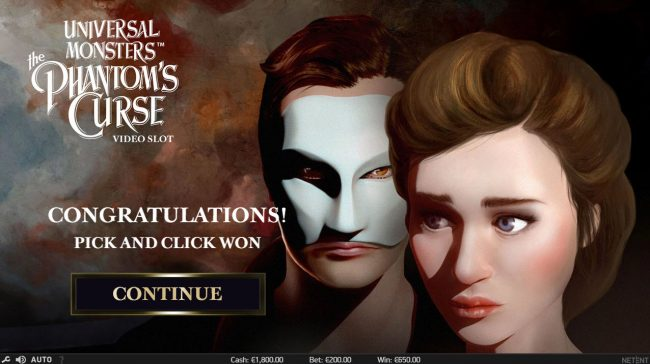 Playgrand featuring the Video Slots Universal Monsters The Phantom's Curse with a maximum payout of $400,000