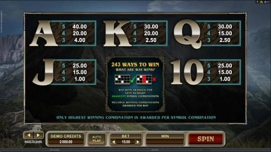 Colosseum featuring the Video Slots Untamed Crowned Eagle with a maximum payout of $90,000