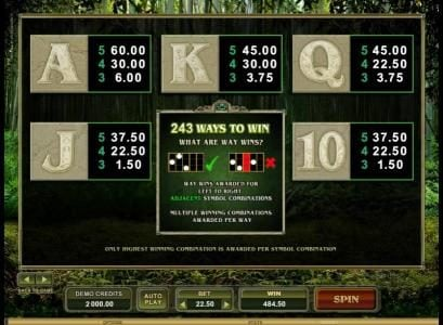 CasinoUK featuring the Video Slots Untamed Giant Panda with a maximum payout of $90,000