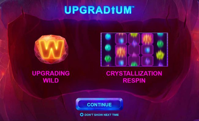 Play slots at King Solomons: King Solomons featuring the Video Slots Upgradium with a maximum payout of $250,000