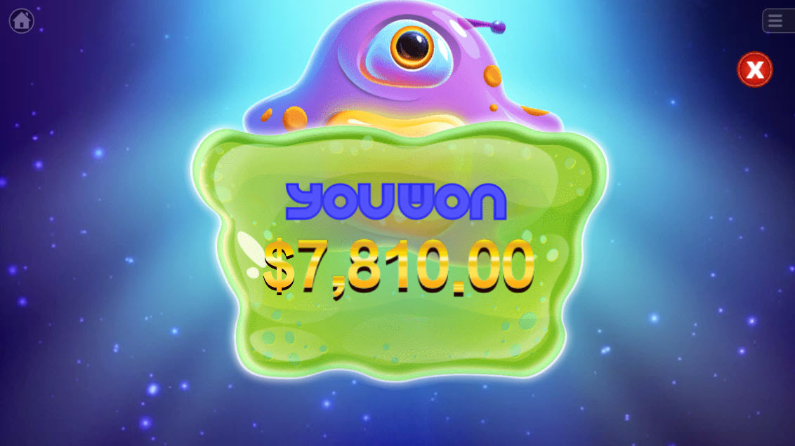 UFO :: Total free spins payout
