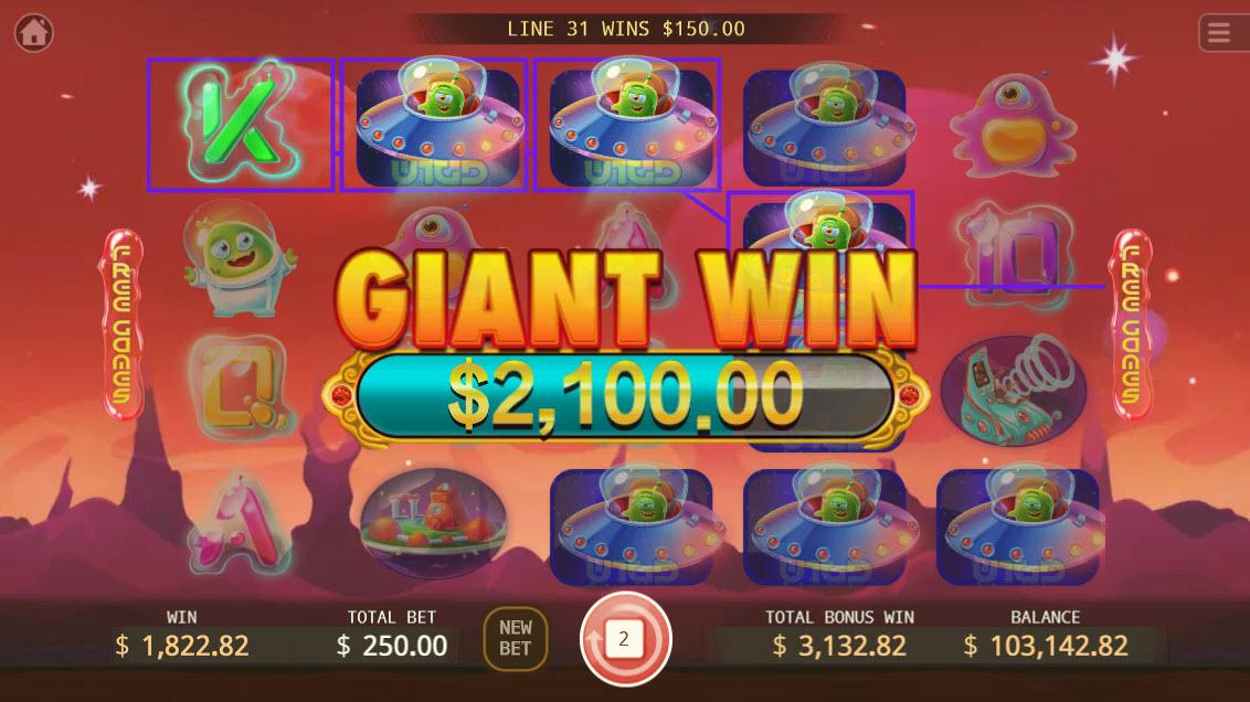 UFO :: Giant Win