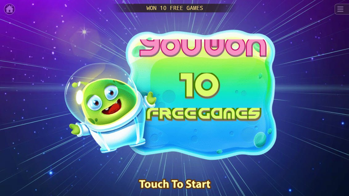 UFO :: 10 Free Spins Awarded