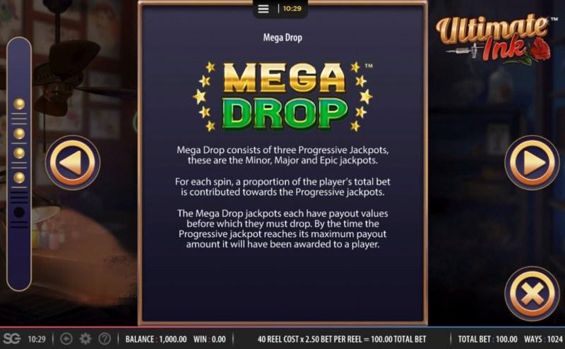 Ultimate Ink :: Mega Drop Rules