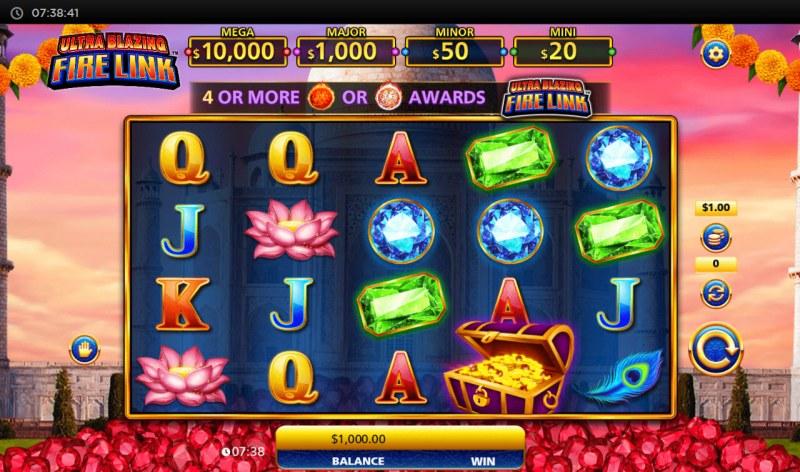 Ultra Blazing Fire Link :: Base Game Screen