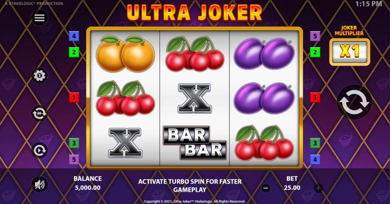 Ultra Joker :: Base Game Screen