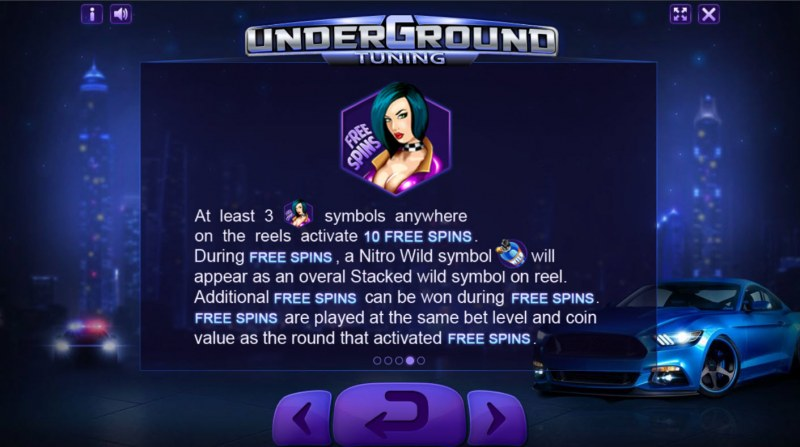 Underground Tuning :: Feature Rules