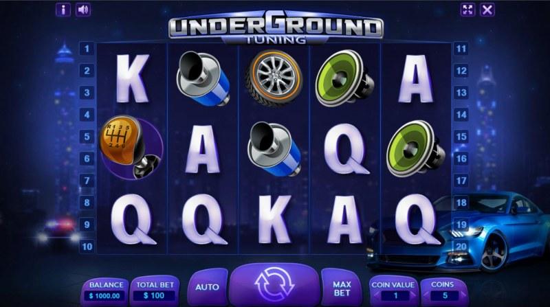 Underground Tuning :: Base Game Screen
