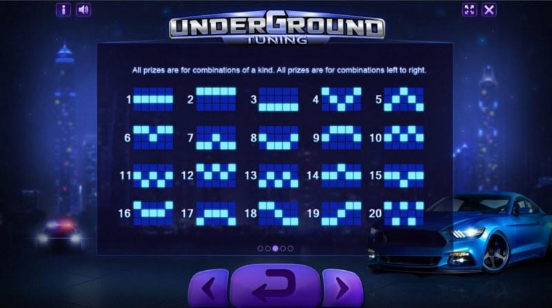 Underground Tuning :: Paylines 1-20