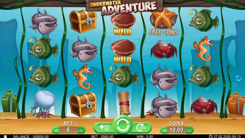 Underwater Adventure :: Main Game Board