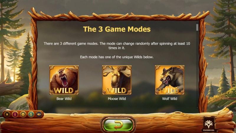 Untamed Wilds :: Wild Symbol Rules