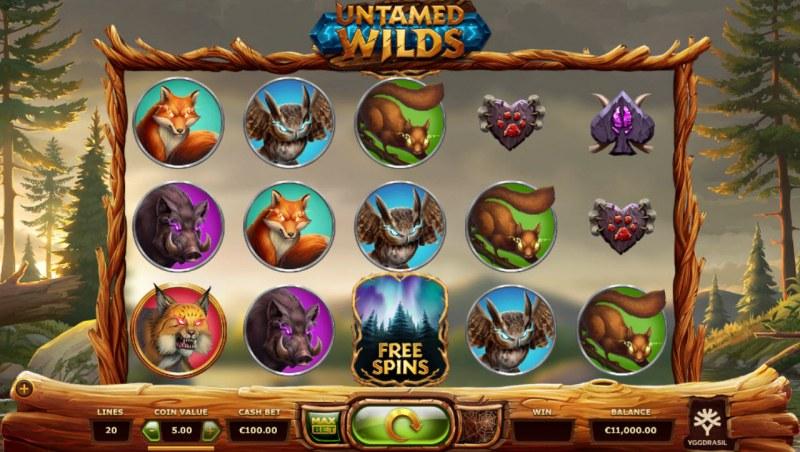 Untamed Wilds :: Main Game Board