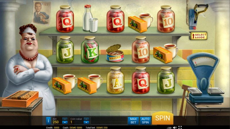 USSR Grocery :: Main Game Board