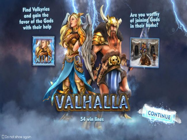 Play slots at Pokie Place: Pokie Place featuring the Video Slots Valhalla with a maximum payout of $50,000
