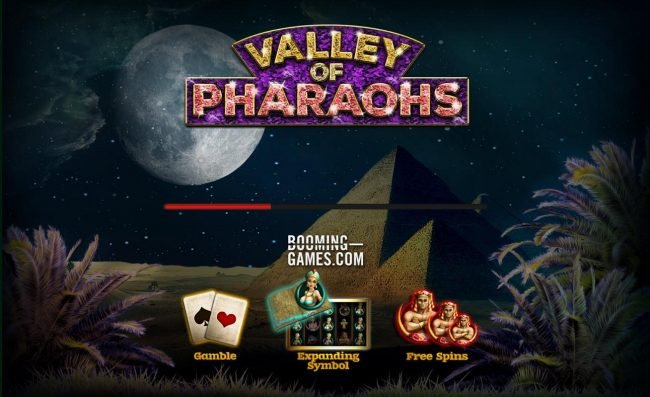 LaFiesta featuring the Video Slots Valley of Pharaohs with a maximum payout of $300,000