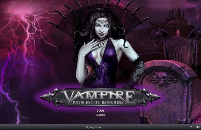 MANSION featuring the Video Slots Vampire Princess of Darkness with a maximum payout of $3,750,000