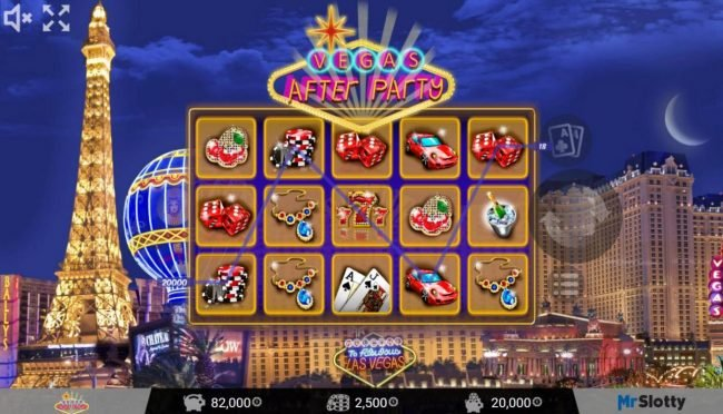CryptoWild featuring the Video Slots Vegas After Party with a maximum payout of $200,000