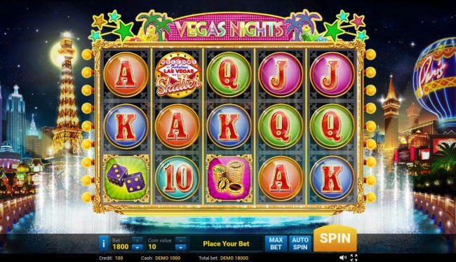 Vegas Nights :: Main Game Board
