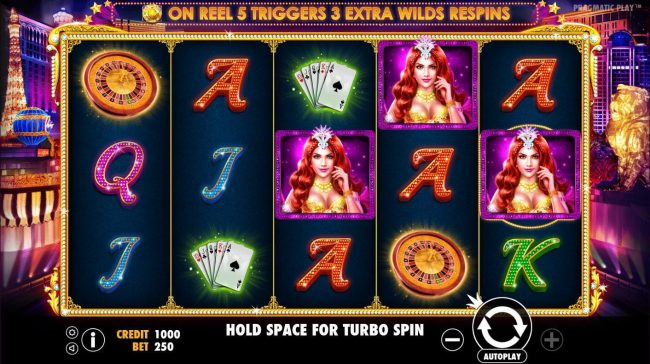 Spiral featuring the Video Slots Vegas Nights with a maximum payout of $7,500
