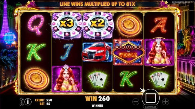 MANSION featuring the Video Slots Vegas Nights with a maximum payout of $7,500