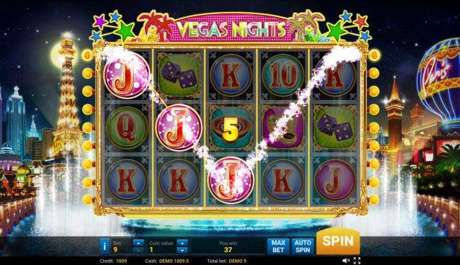 Vegas Nights :: A winning three of a kind