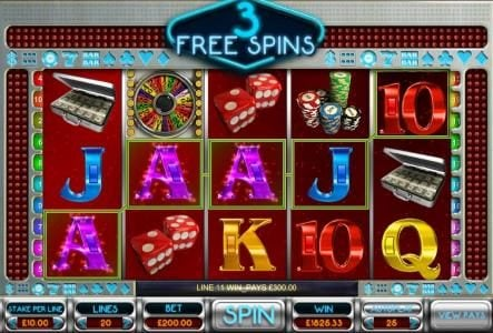 Casino Extra featuring the Video Slots Vegas Dreams with a maximum payout of $25,000