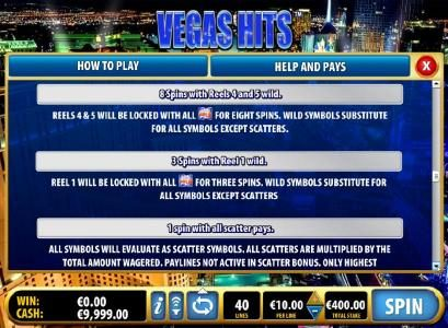 free spins pays