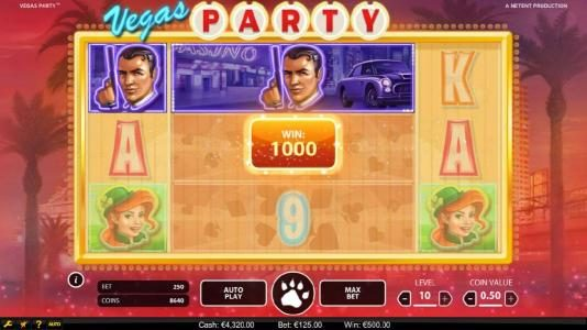 Hello featuring the Video Slots Vegas Party with a maximum payout of $135,000