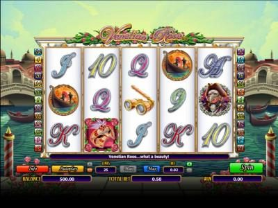 Hello featuring the Video Slots Venetian Rose with a maximum payout of 3000x