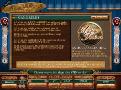 Caribic featuring the Video Slots Victorian Villain with a maximum payout of $2,500