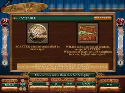 Chanz featuring the Video Slots Victorian Villain with a maximum payout of $2,500