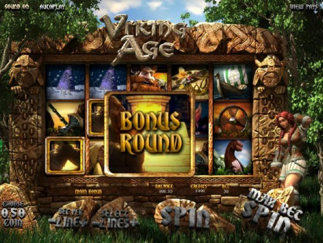 Play slots at Wild Slots: Wild Slots featuring the Video Slots Viking Age with a maximum payout of $3,750