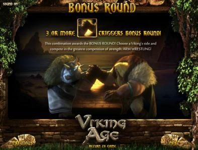 Joker Casino featuring the Video Slots Viking Age with a maximum payout of $3,750