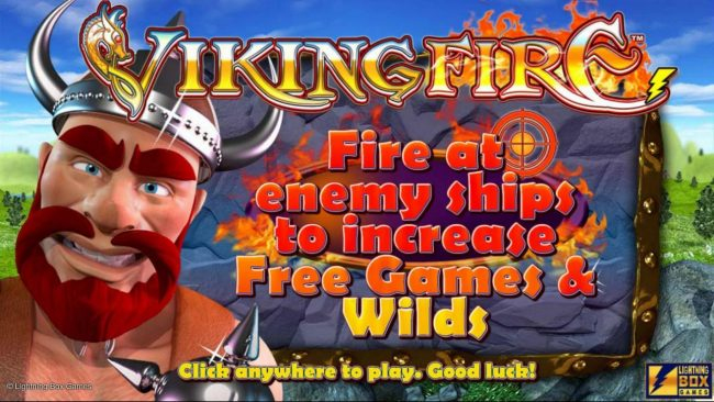 Splash Screen Game Loading - Fire at enemy ships to increase free games and wilds.