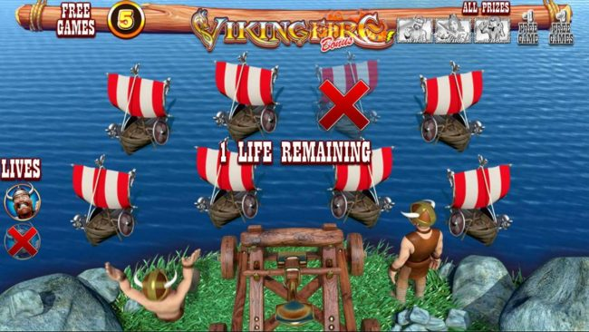 Play slots at Vegas Spins: Vegas Spins featuring the Video Slots Viking Fire with a maximum payout of $50,000