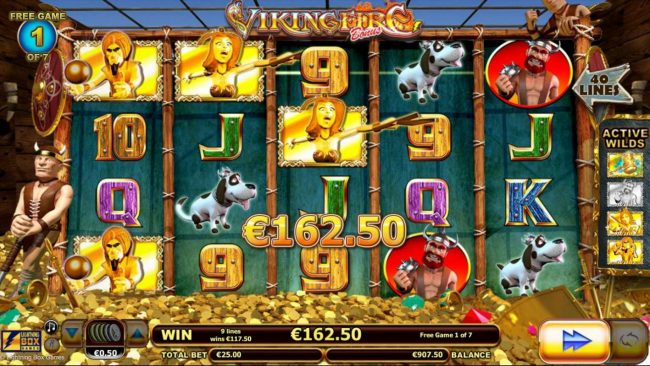 Orientxpress featuring the Video Slots Viking Fire with a maximum payout of $50,000