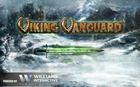 Viking Vanguard :: Splash screen - game loading