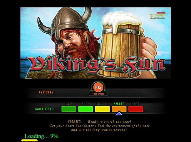Campeon featuring the Video Slots Viking's Fun with a maximum payout of $200,000
