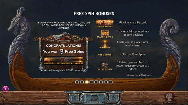 Casinia featuring the Video Slots Vikings Go Berzerk with a maximum payout of $50,000