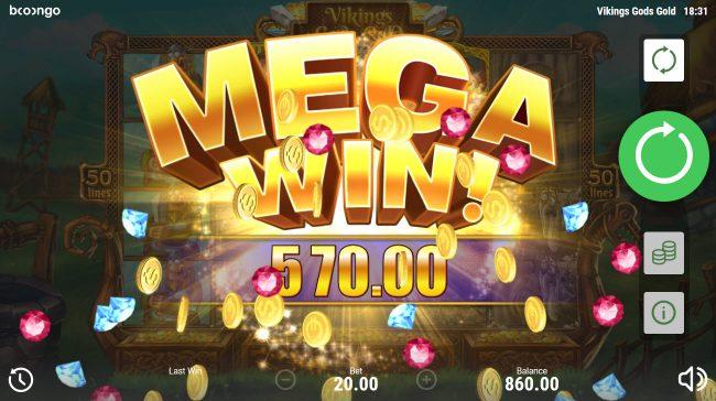 Viking's Gods Gold :: Mega Win