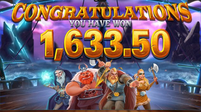 Vikings Unleashed Megaways :: Total free spins payout