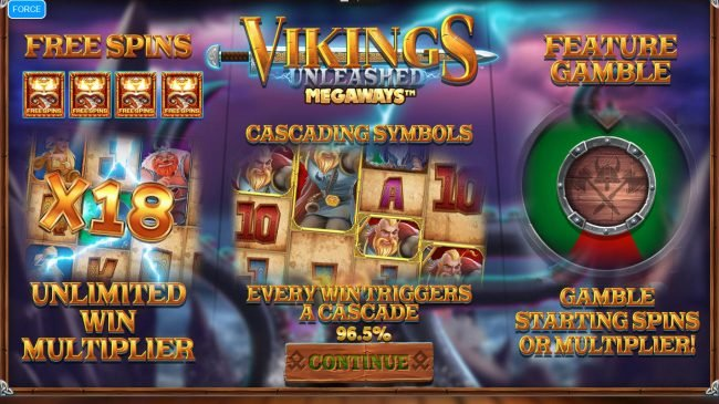 Vikings Unleashed Megaways :: Preview